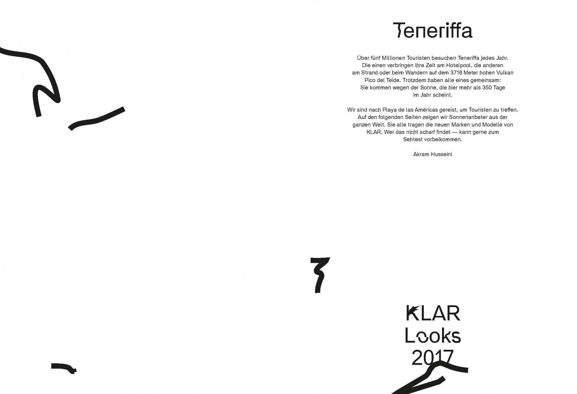 Florian Schüppel KLAR LOOKBOOK 2017